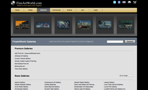 Browse Fine Art and Galleries
